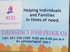 Food Program Card